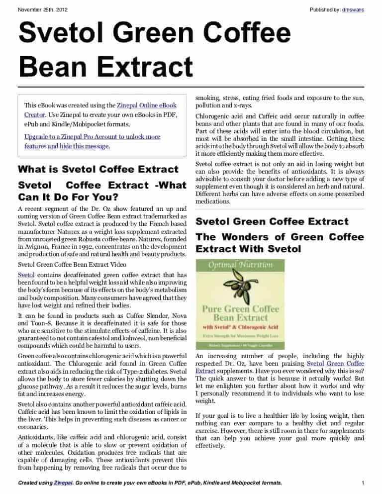 Green Coffee 7